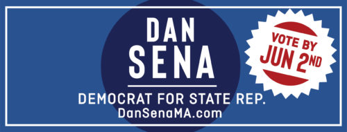Updated Voting Logo: Vote for Dan Sena by June 2nd